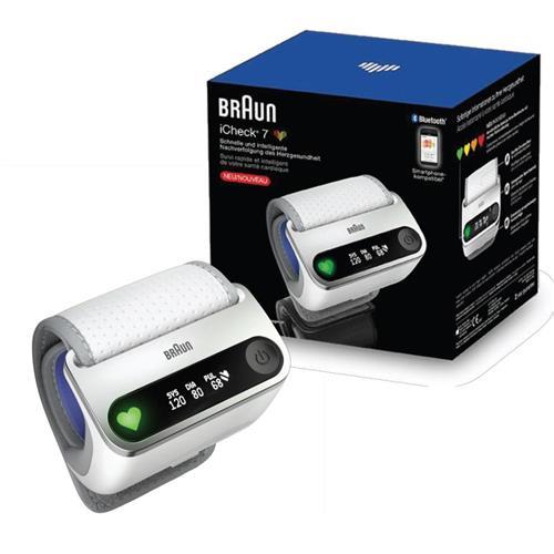 BRAUN iCHECK 7 BPW4500 zápästný tlakomer s Bluetooth 413497