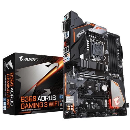 GIGABYTE B360 AORUS GAMING 3 WIFI (rev. 1.0) GA-B360 AORUS GAMING 3 WIFI