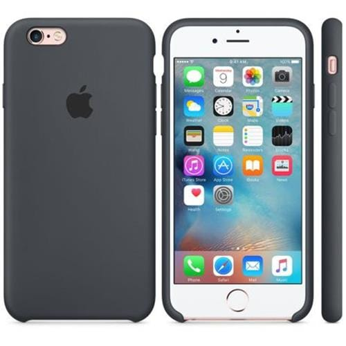 Apple iPhone 6S Silicone Case Charcoal Grey MKY02ZM/A