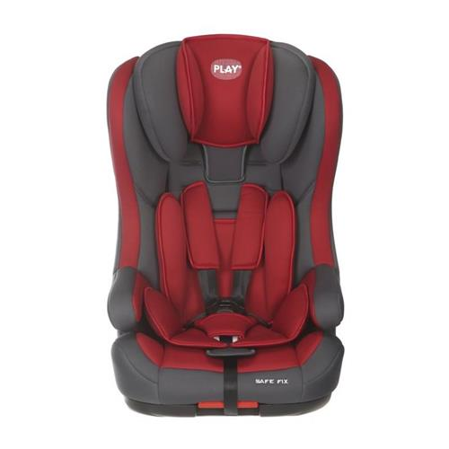 Play - Autosedačka Safe Fix 9-36 kg (2017) - Grey/Red 30523-306