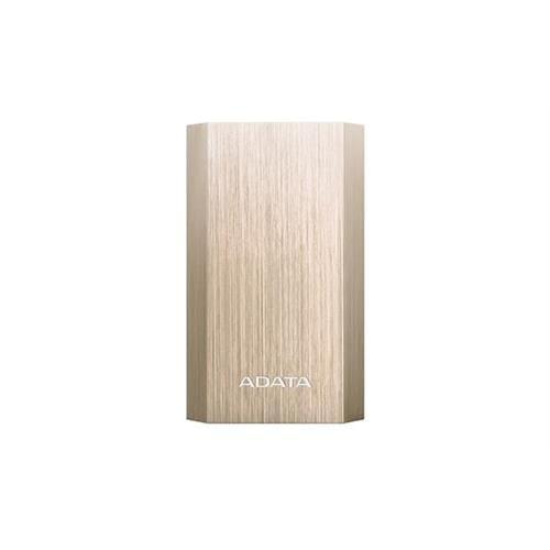 Powerbank ADATA A10050, 10050mAh, zlatý AA10050-5V-CGD