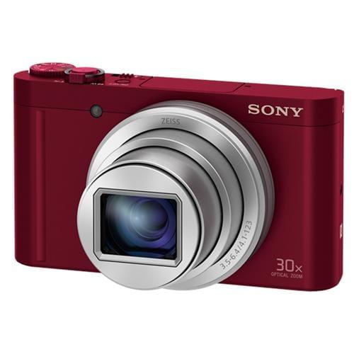 Fotoaparát Sony DSC-WX500, 18,2Mpix, 30xOZ, FullHD, WiFi, červený DSCWX500R.CE3