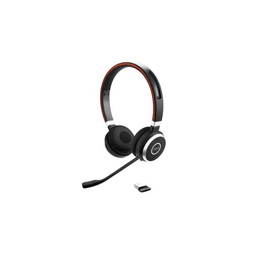 Headset Jabra Evolve 65, duo, USB-BT, MS, stojan 6599-823-399