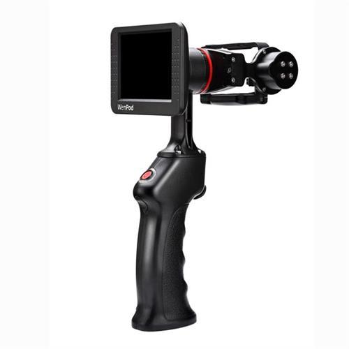 WEWOW GP1 Gimbal, 2-Axis, pre fotoaparáty, dvojosý, čierny, 800mAh, gyroskopický držiak GP1+