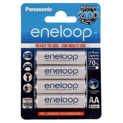 Panasonic Eneloop AA NiMH 1,2V 1900mAh BL4 2100c 11485