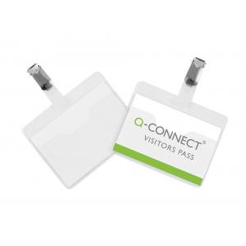 Visačka so štipcom otvorená Q-Connect 90x60mm 25ks QC001560