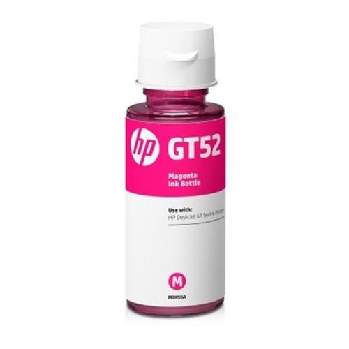 HP originál ink bottle M0H55AE, No.GT52, magenta, 8000str., 70ml, HP DeskJet GT serie,