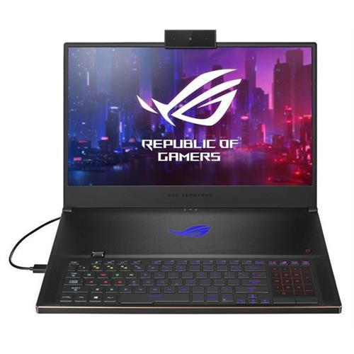 ASUS Zephyrus S GX701GBXR-H6077T, i7-9750H, 32GB, 1TBB PCIe SSD, Nvidia RTX2080(8), Win10 Home, Black GX701GXR-H6077T
