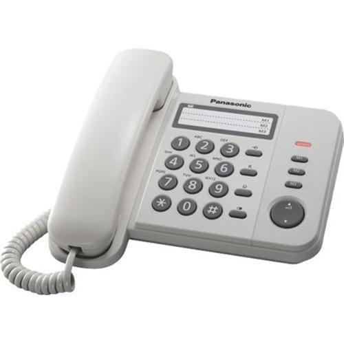 Panasonic KX-TS520FXW jednolinkovy telefon / biely