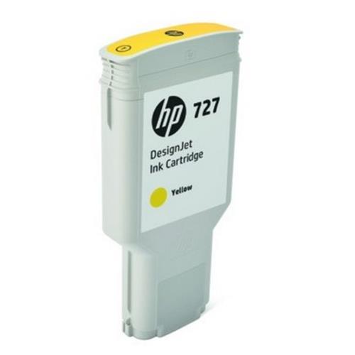 F9J78A HP 727 300-ml Yellow DesignJet Ink Cartridge