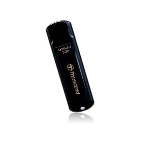 USB kľúč 8GB Transcend JetFlash 700, USB 3.0, čierny TS8GJF700