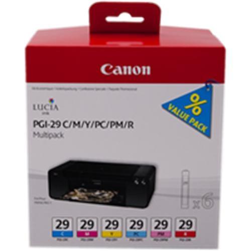 Kazeta CANON PGI-29 C/M/Y/PC/PM/R PACK PIXMA Pro 1 4873B005