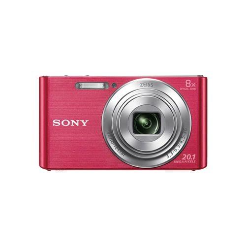 """Fotoaparát SONY DSC-W830P, 20,1Mpx, f/3.3-6.3, 8x zoom, 2.7""""LCD, ružový DSCW830P.CE3"""