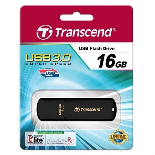 USB kľúč 16GB Transcend JetFlash 700, USB 3.0, čierny TS16GJF700