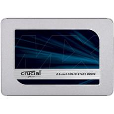 "SSD Crucial MX500 2TB, 2.5"" 7mm SATA 6Gb/s, Read/Write: 560 MBs/510MBs"