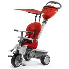 SMART TRIKE - Recliner kočík - Red