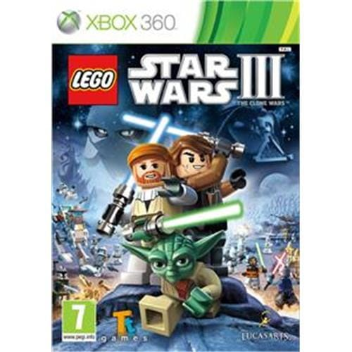 XBOX 360 hra - LEGO Star Wars III: The Clone Wars