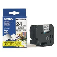 Páska BROTHER TZ251 Black On White Tape (24mm)