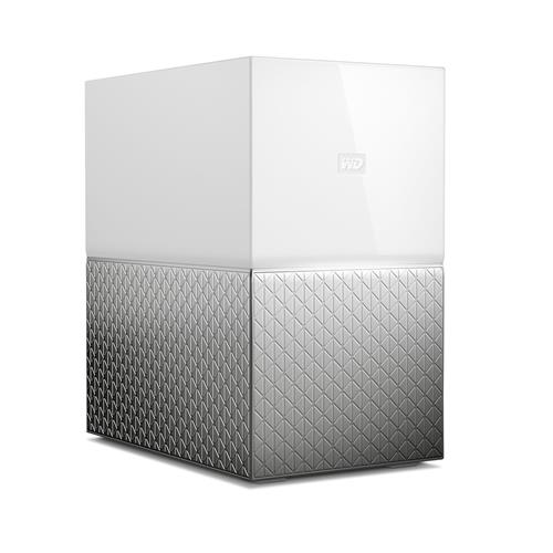 NAS 3 5   WD My Cloud Home Duo 4TB LAN WDBMUT0040JWT EESN