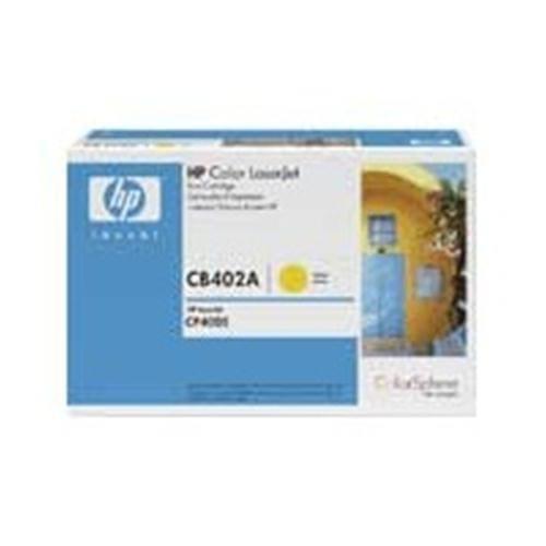 Toner HP CB402A CLJ CP4005, 75 00 strán Yellow