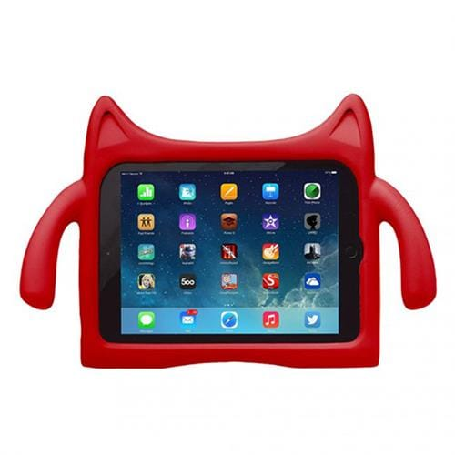iPadding kryt detský obal pre iPad Air 1/2 - Red ND-IPD-A01-RD