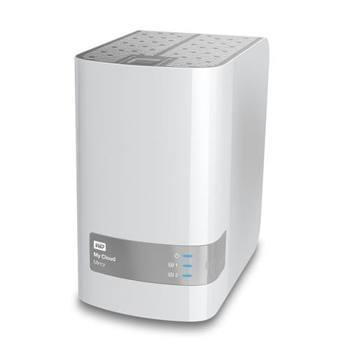 NAS 3.5'' WD My Cloud Mirror 4TB LAN