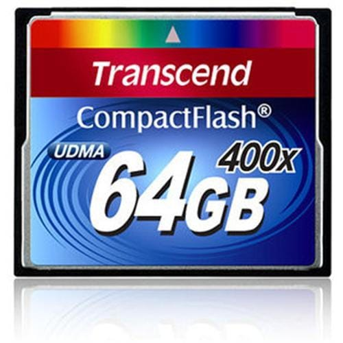 Transcend 64GB CF Card (400X) compact flash memory card