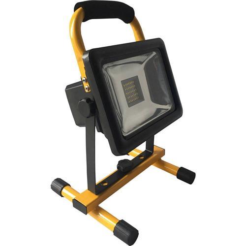SMD LED pracovné osvetlenie Shada 300166 20W, 20 W, napájené akumulátorom 1663532