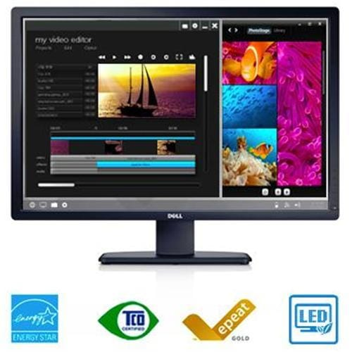 "Monitor DELL UltraSharp U3014, 30"", AH-IPS, 2560x1600, 200000:1, 6ms, 350cd, HDMI, DP, DVI-D, USB"