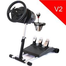 Wheel Stand Pro DELUXE V2, stojan na volant a pedále pre Thrustmaster T150, T300 a TX, T500, Logitech G29
