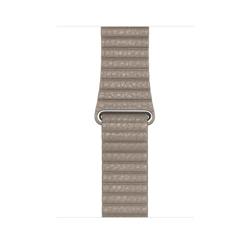 Apple Watch 44mm Band: Stone Leather Loop - Large mthd2zm/a