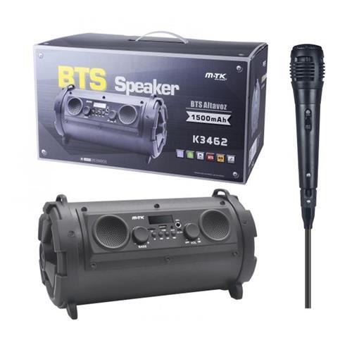 Aligator Speaker PLUS 3462, s mikrofónom, LED, čierny 01010302