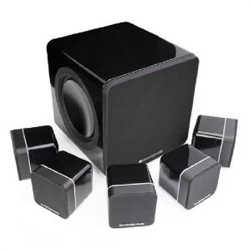 Repro CA Minx S215 set reproduktorov 5.1 - čierny klavírny lak C10353