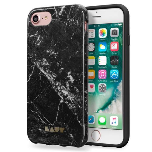 LAUT Huex Elements – case for iPhone 7 / 8 / SE 2020, Marble Black LAUT-IP7-HXE-MB
