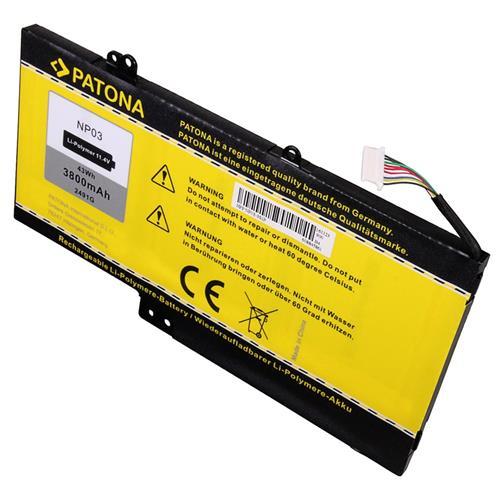 PATONA batéria pre ntb HP Pavilion 13 3800mAh Li-Pol 11,4V NP03XL PT2491