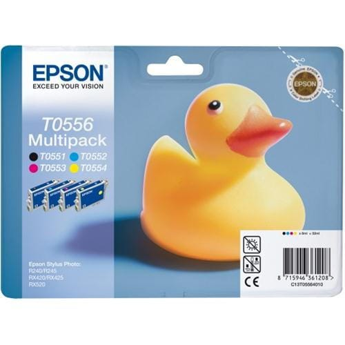 Kazeta EPSON SP R240/R245,RX420/RX520 multipack CMYK C13T05564010