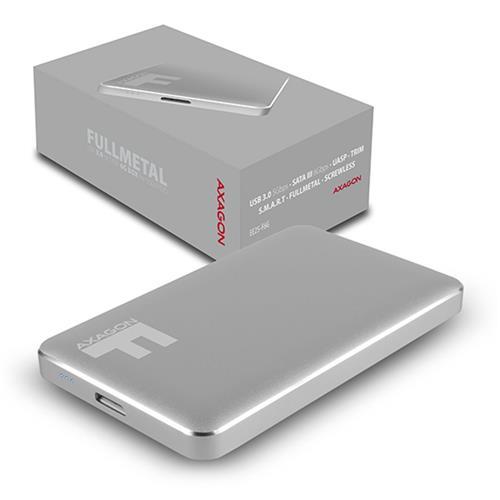 AXAGON EE25-F6G USB3.0 - SATA 6G 2.5'' FULLMETAL externý box IRON GREY