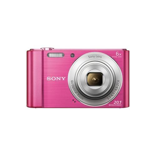 """Fotoaparát SONY DSC-W810P, 20,1Mpx, f/3.5-6.5, 6x zoom, 2.7""""LCD, ružový DSCW810P.CE3"""