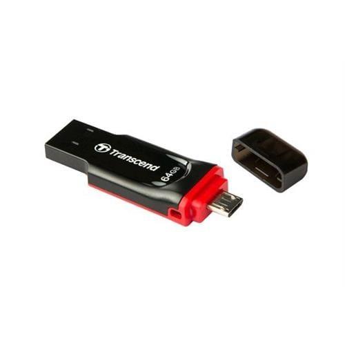 USB kľúč 32GB Transcend JetFlash 340 OTG, microUSB / USB 2.0 TS32GJF340
