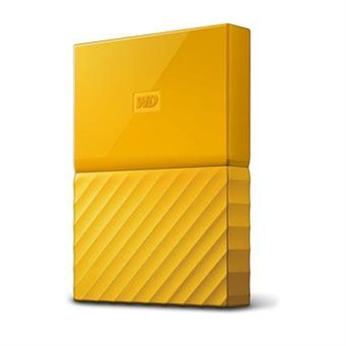 Ext. HDD WD My Passport 2TB, 2,5'', USB 3.0, žltý WDBYFT0020BYL-WESN