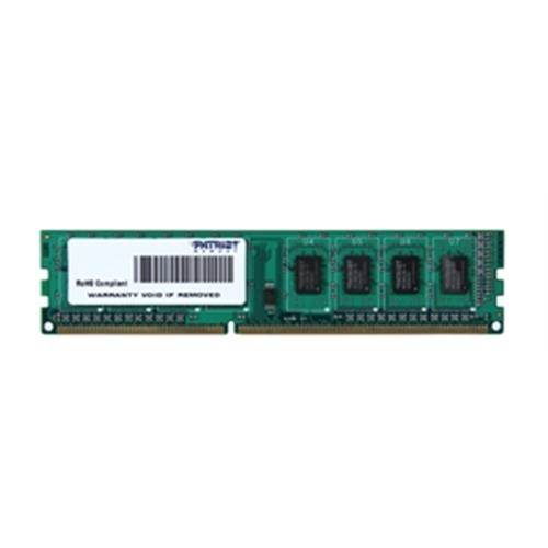 4GB DDR3-1600MHz PATRIOT CL11 SR PSD34G160081