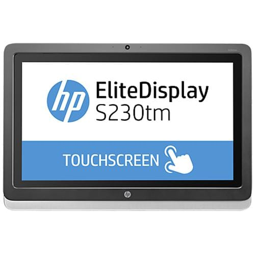 Monitor HP EliteDisplay S230tm, 23 IPS LED Touch, 1920x1080 FHD, 1000:1, 7ms, 220cd, DVI-D, DP, USB