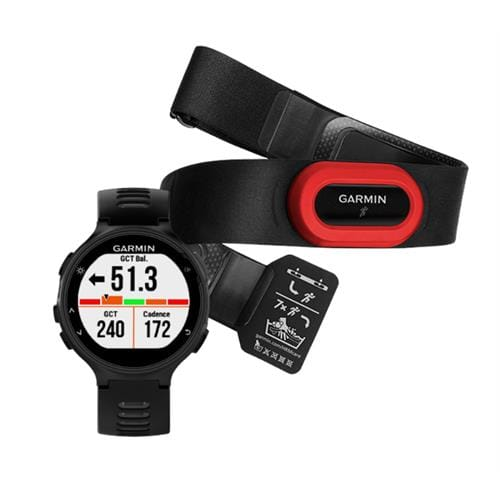 Garmin Forerunner 735XT Black & Gray Run Bundle 010-01614-15