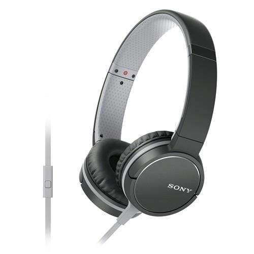 Slúchadlá Sony MDR-ZX660AP, handsfree, čierne MDRZX660APB.CE7
