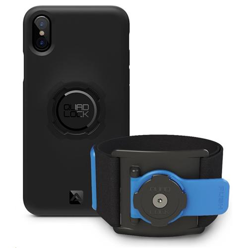 Quad Lock Run Kit – iPhone X - Športový držiak na ruku QLK-ARM-IPX