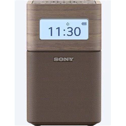 Rádioprijímač Sony SRF-V1BT, prenosný, BT/NFC, vstav. batéria, hnedý SRFV1BTT.EU8