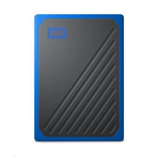 Ext. SSD WD My Passport GO 1TB, USB 3.0, modrý WDBMCG0010BBT-WESN
