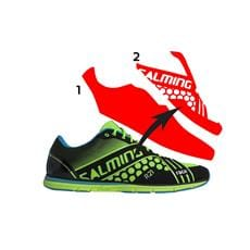 SALMING Race Shoe Men Green 12 UK