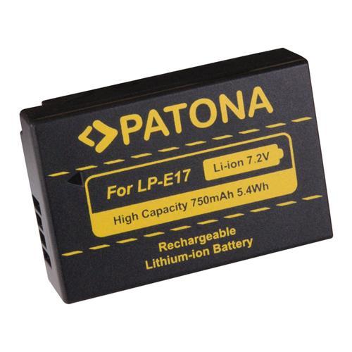 PATONA batéria pre foto Canon LP-E17 750mAh Li-Ion PT1250