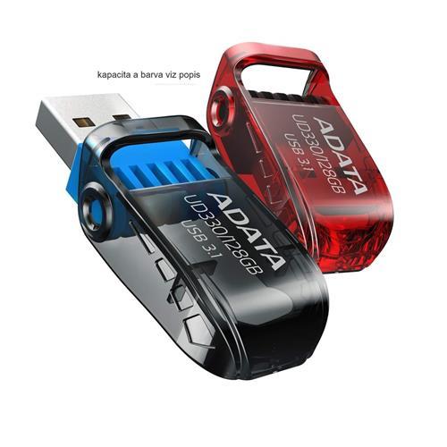USB Kľúč 16GB ADATA UD330 USB 3.1 red AUD330-16G-RRD